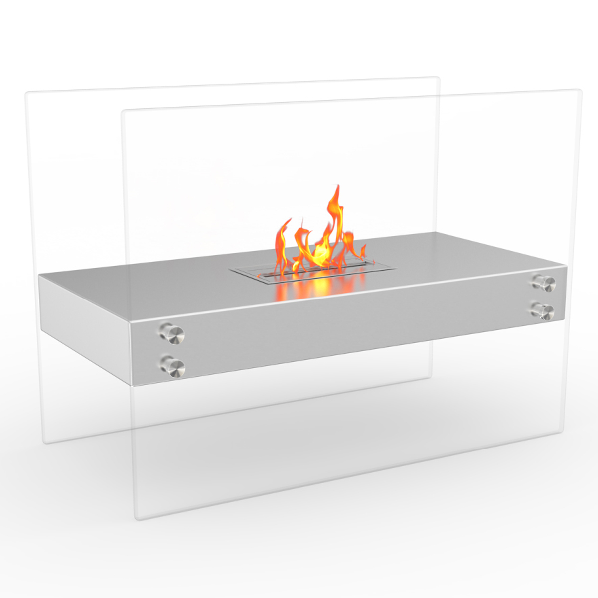 Regal Flame Ionic Ventless Free Standing Ethanol Fireplace