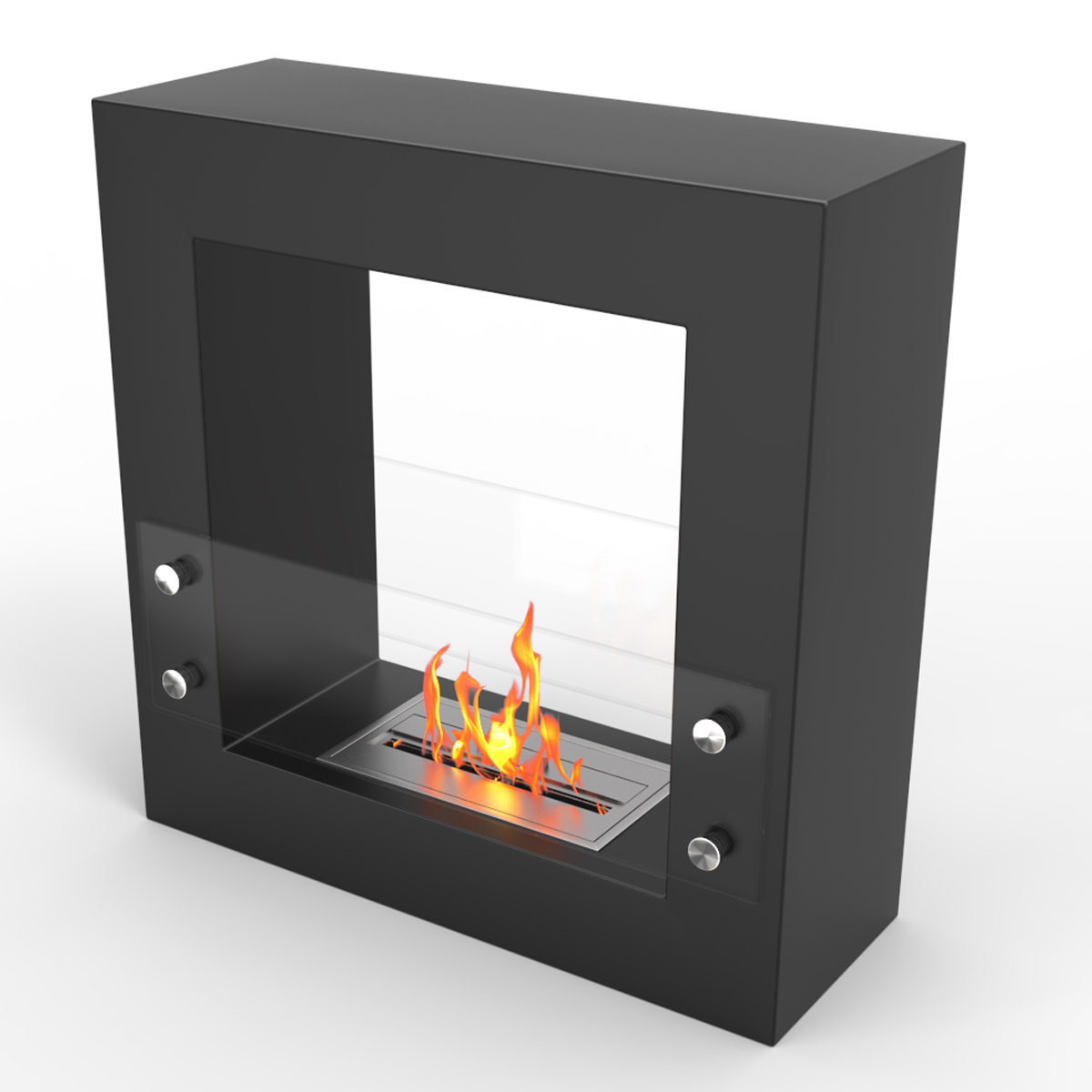Regal Flame Dora Ventless Free Standing Ethanol Fireplace