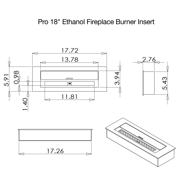 18 Inch Electric Fireplace Insert ~ usrmanual.com