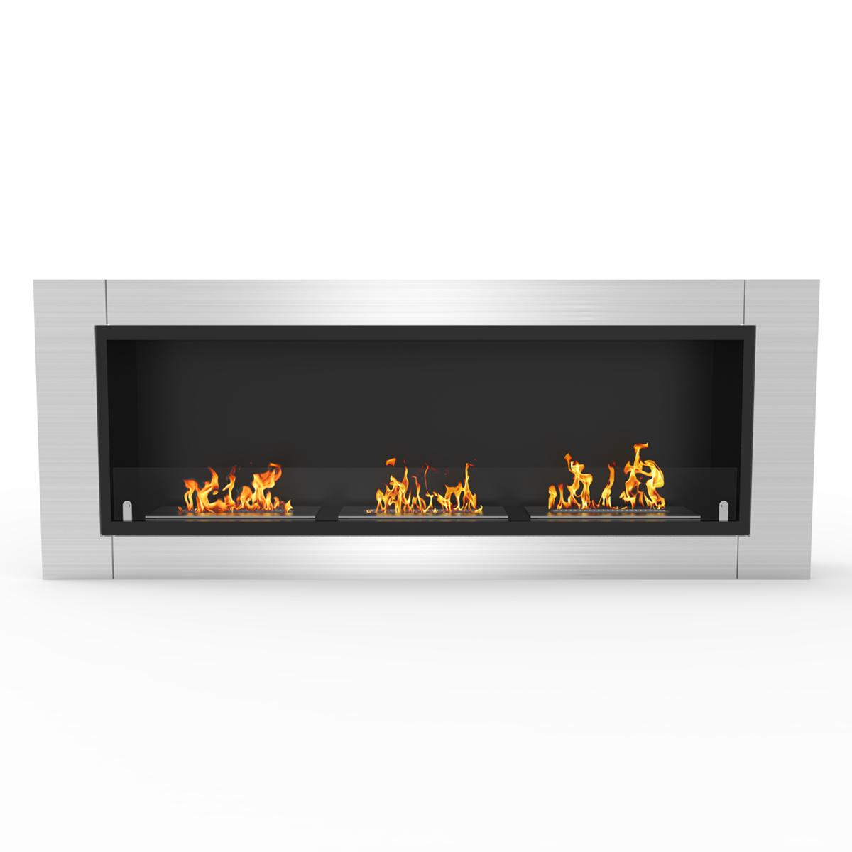 Regal Flame Lenox 54 Inch Ventless Built In Recessed Bio
