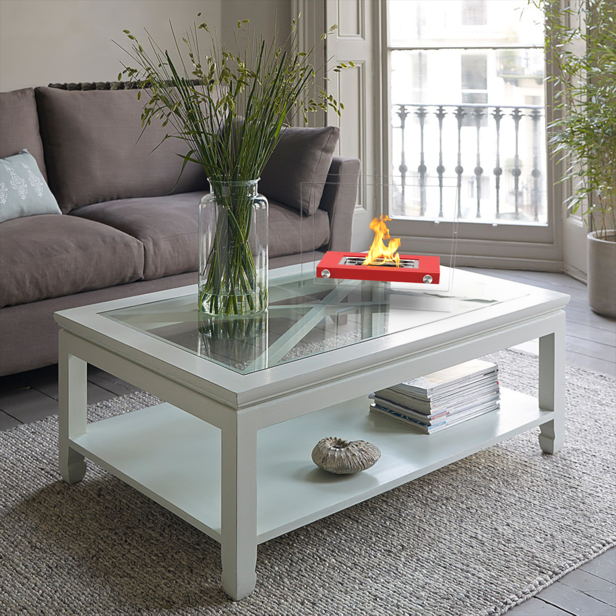 Ethanol Fireplace Coffee Table Fireplaces