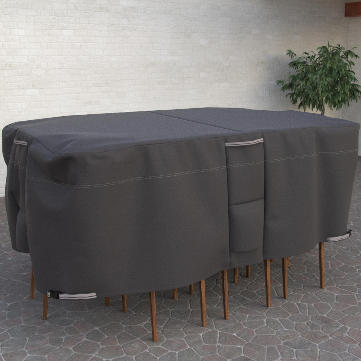 Oval Rectangle Patio Table And Chair