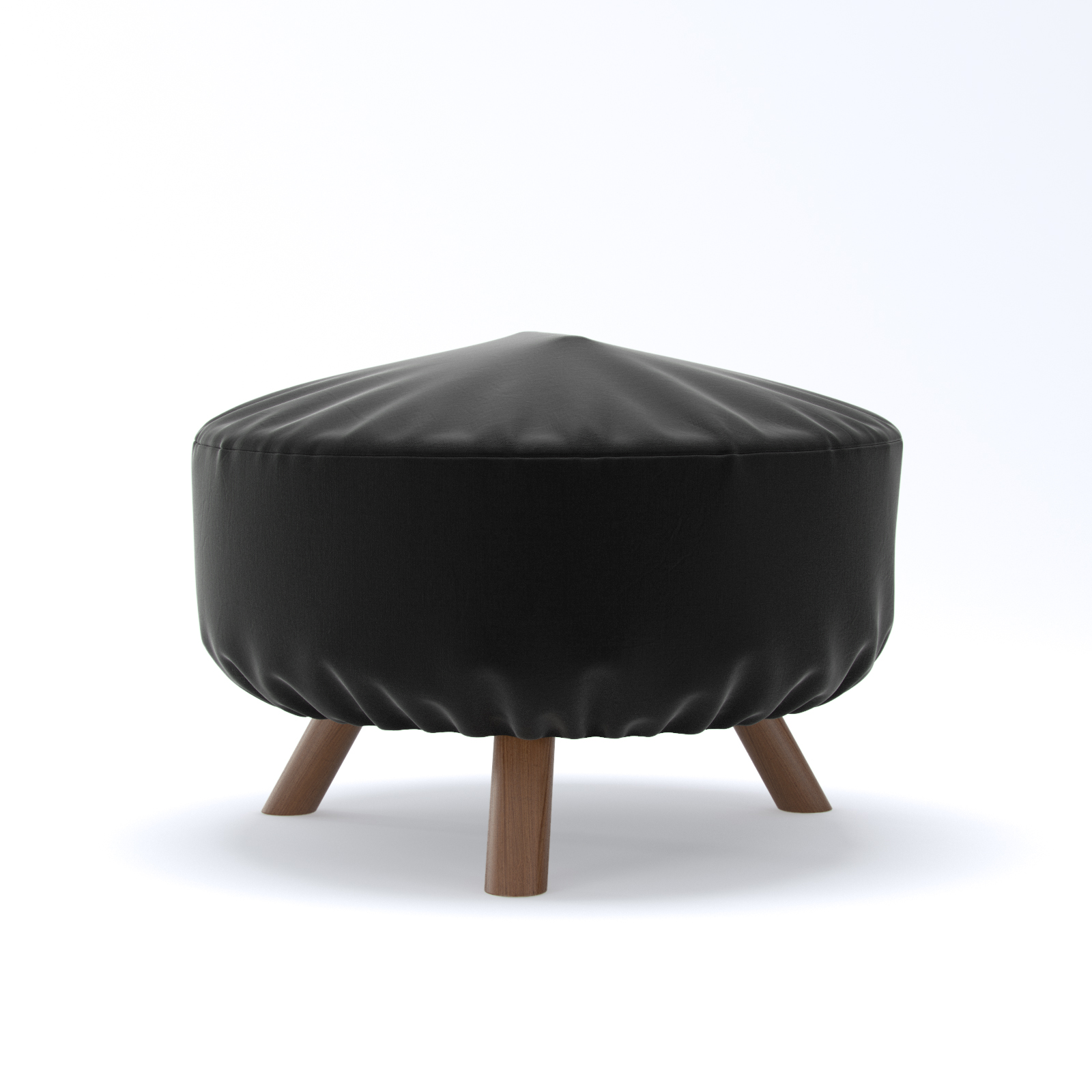 Dura Covers 32 Inch Black Heavy Duty Round Fire Pit Cover