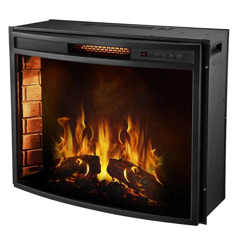 Regal Flame 33 Inch Curved Ventless Heater Electric Fireplace Insert-Regal Flame 33 Inch Curved Ventless Heater Electric Fireplace Insert If you want a fireplace insert that is easy to use