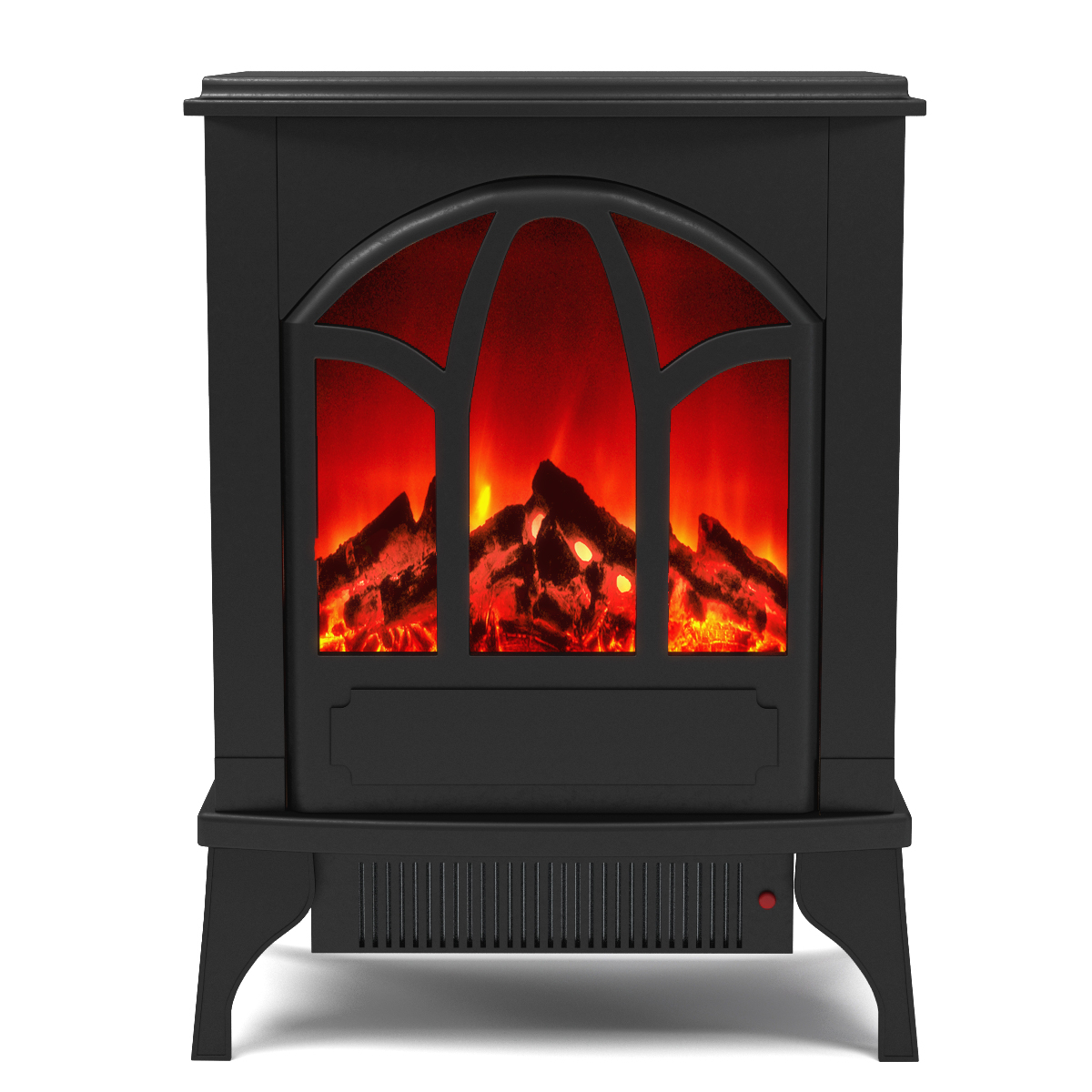 Regal Flame Juno Electric Fireplace Free Standing Portable Space