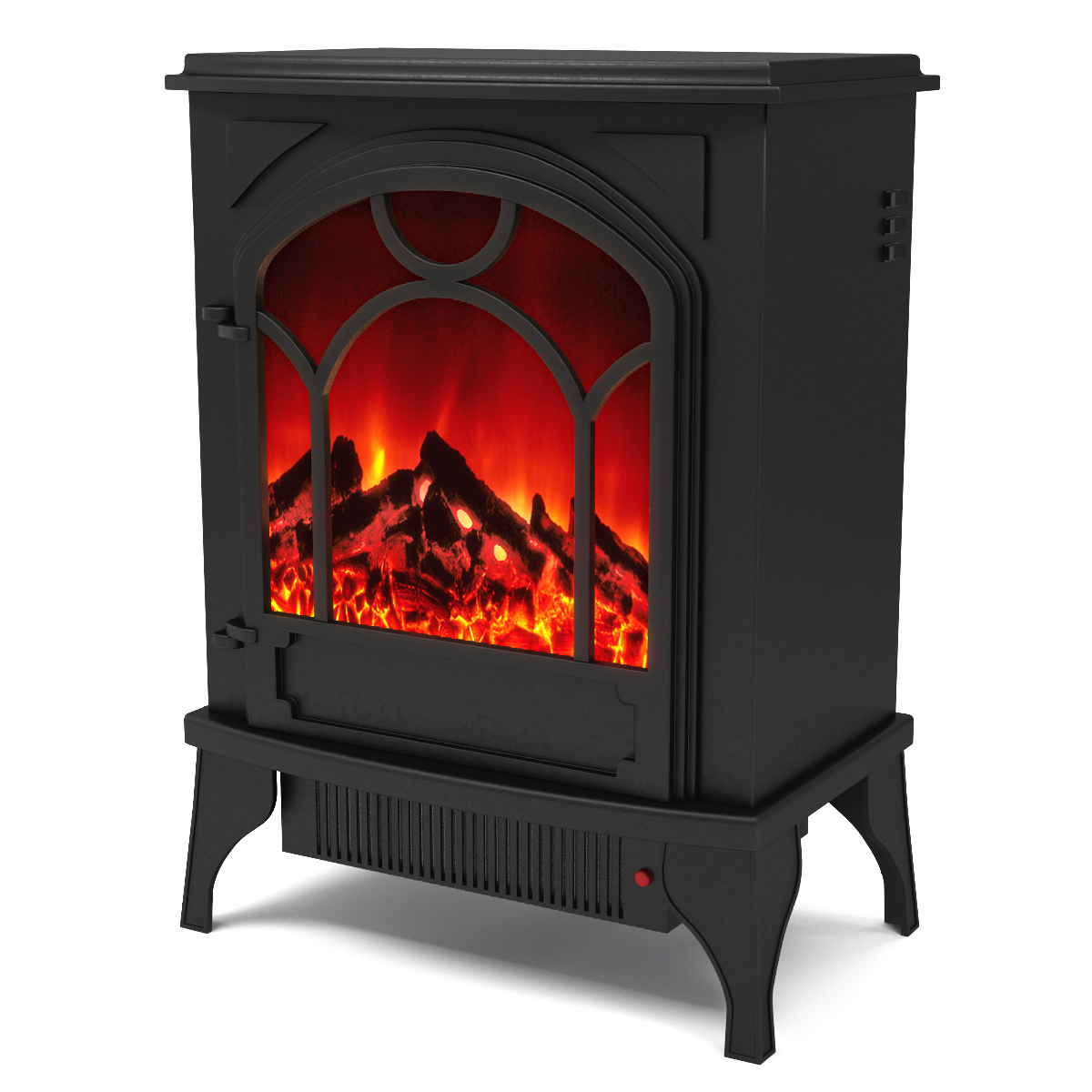 regal flame aries electric fireplace free standing portable space