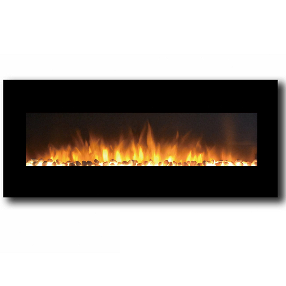 Regal Flame Rigel Inch Black Ventless Heater Electric Wall