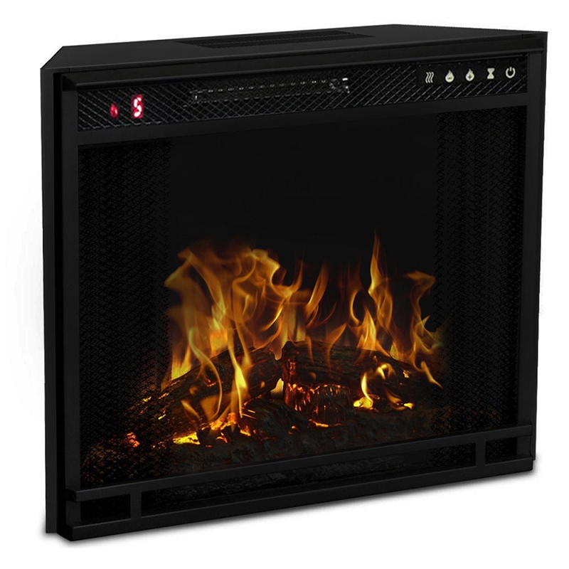 Fireplace Design fireplace heaters electric : Regal Flame 23 Inch Flat Ventless Heater Electric Fireplace Insert