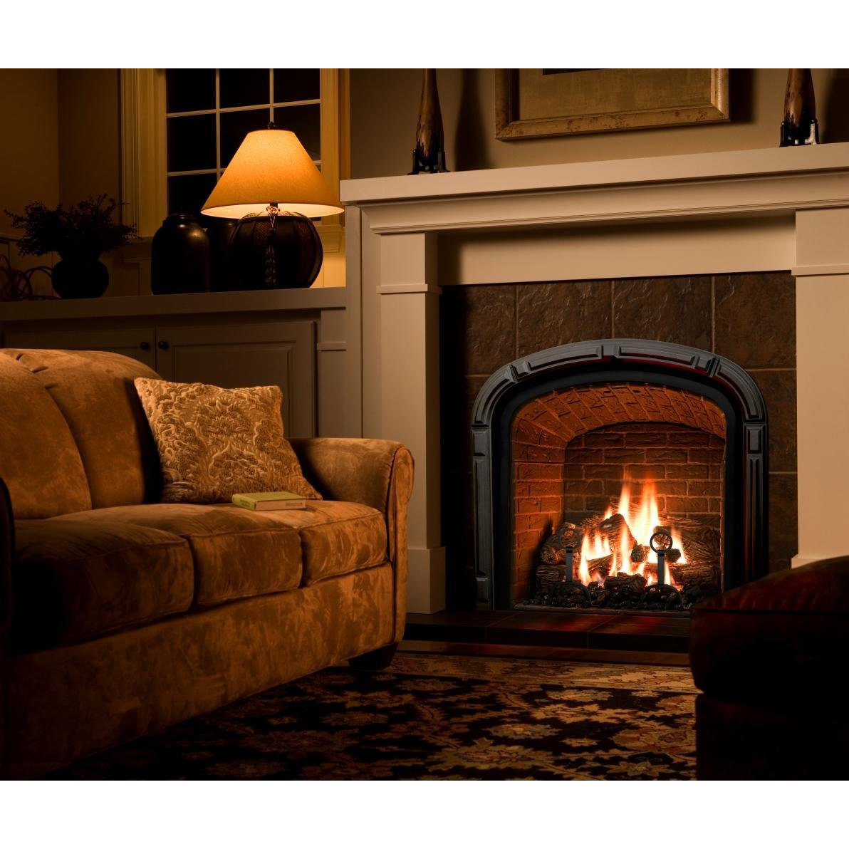 Set of 10 Ceramic Fiber Propane Gel Ethanol Gas Fireplace