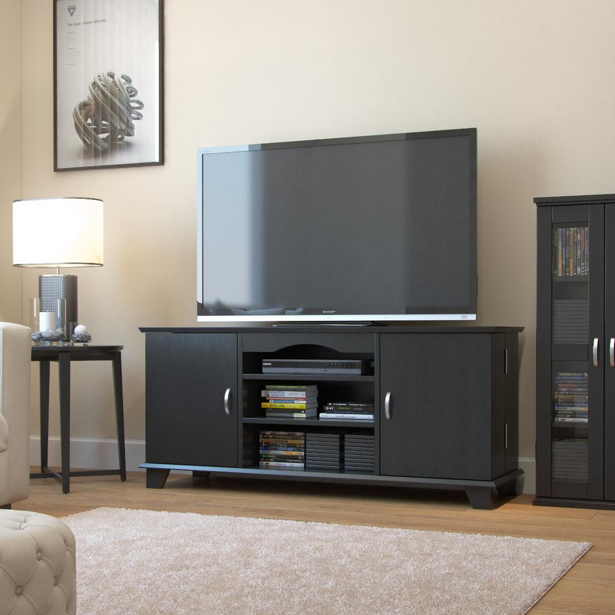 Ryan Rove Chester 60 Inch Tv Console In Black