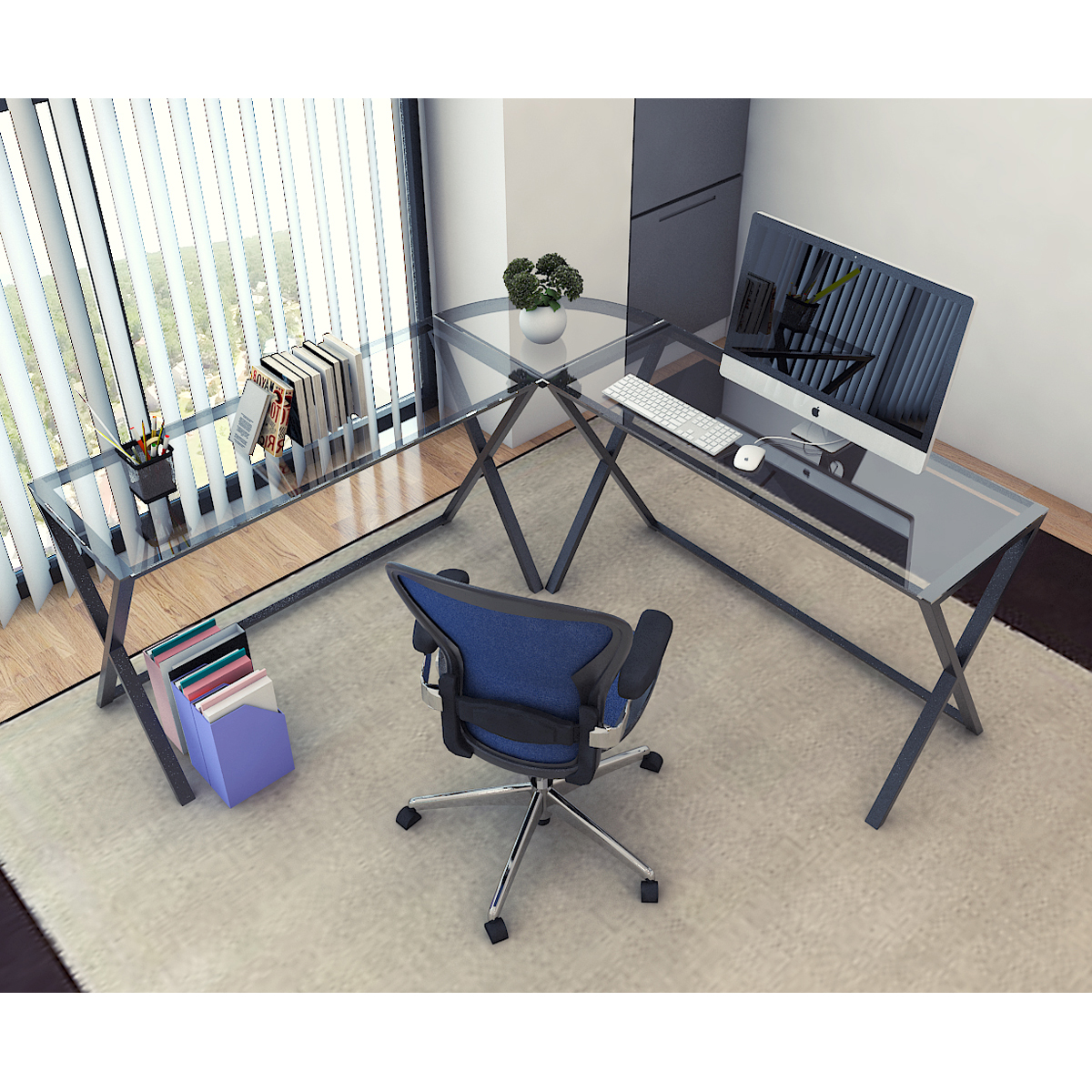 desks l desk concept high bestar pro hutch b computer raw collection shaped with