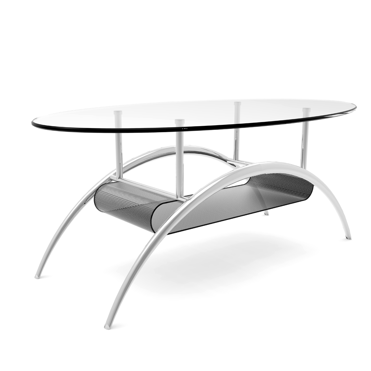 3pc Black Temper Glass Tops Metal Legs Coffee Table W: Ryan Rove Cleveland 38 Inch Glass Coffee Table With Black