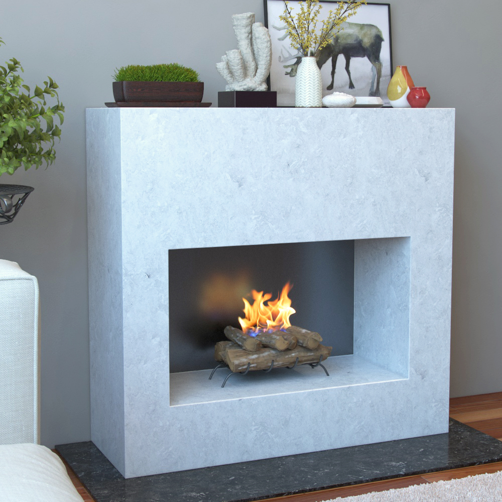 devin p fireplaces flame gel w ventless real fuel white in fireplace