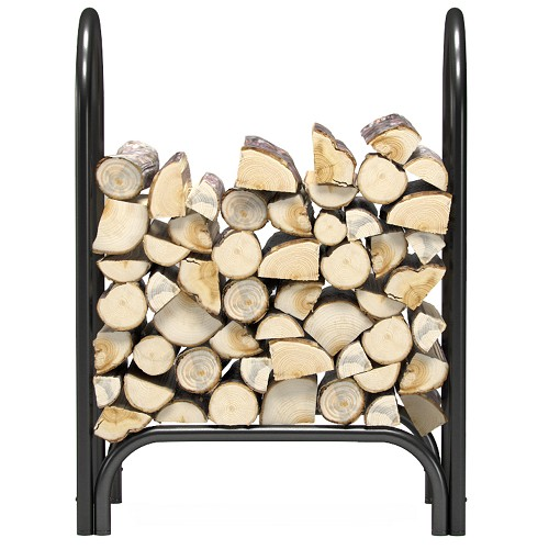 Regal Flame 28 Inch Indoor Outdoor Firewood Shelter Log Rack