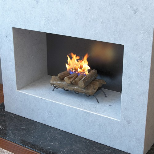 18 Inch Convert to Ethanol Fireplace Log Set with Burner Insert from Gel or Gas Logs-18 Convert to Ethanol Fireplace Log Set with Burner Insert from Gel or Gas Logs Tired of logging wood
