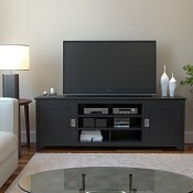 Ryan Rove Carolina 70 Inch TV Console in Matte Black