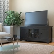 Ryan Rove Harbor 52 Inch TV Console in Matte Black
