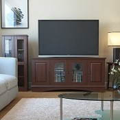 Ryan Rove Soho 52 Inch TV Console in Brown