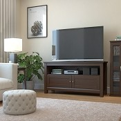 Ryan Rove Elm 44 Inch TV Console in Brown