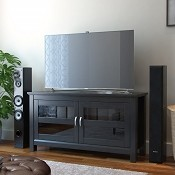 Ryan Rove Fusion 44 Inch TV Console in Black
