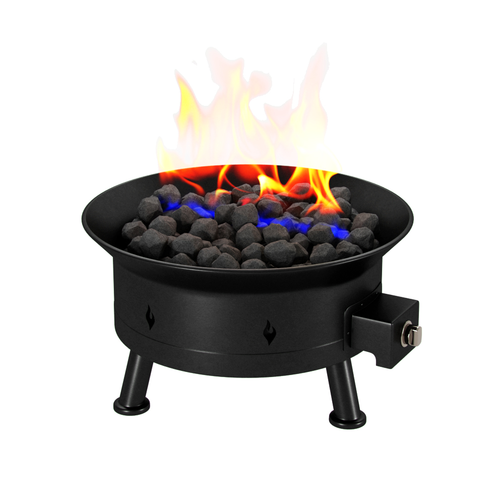 Regal Flame Camp Mate Large 58 000 Btu Portable Propane Outdoor Fire Pit